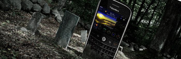 No Blackberry is not Dead yet ,,,,,