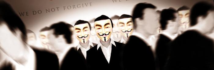 Anonymous Strikes
