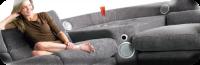 The Sound Sofa iPod Dock