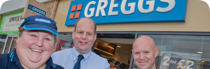 The only brand I trust most is Greggs