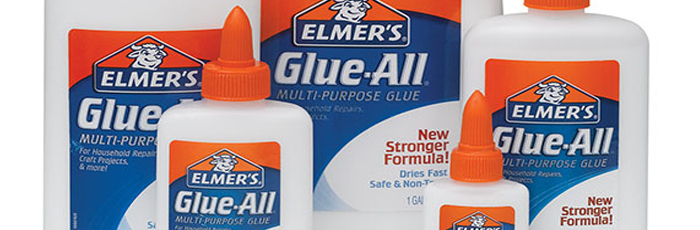 Don't Forget The Elmers Glue