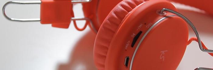 KitSound Manhattan Bluetooth Headphones