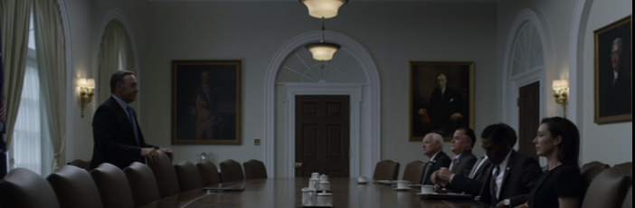House of Cards Show, Season 3, Episode 2 (Chapter 28)