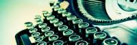 Digging Out The Typewriter