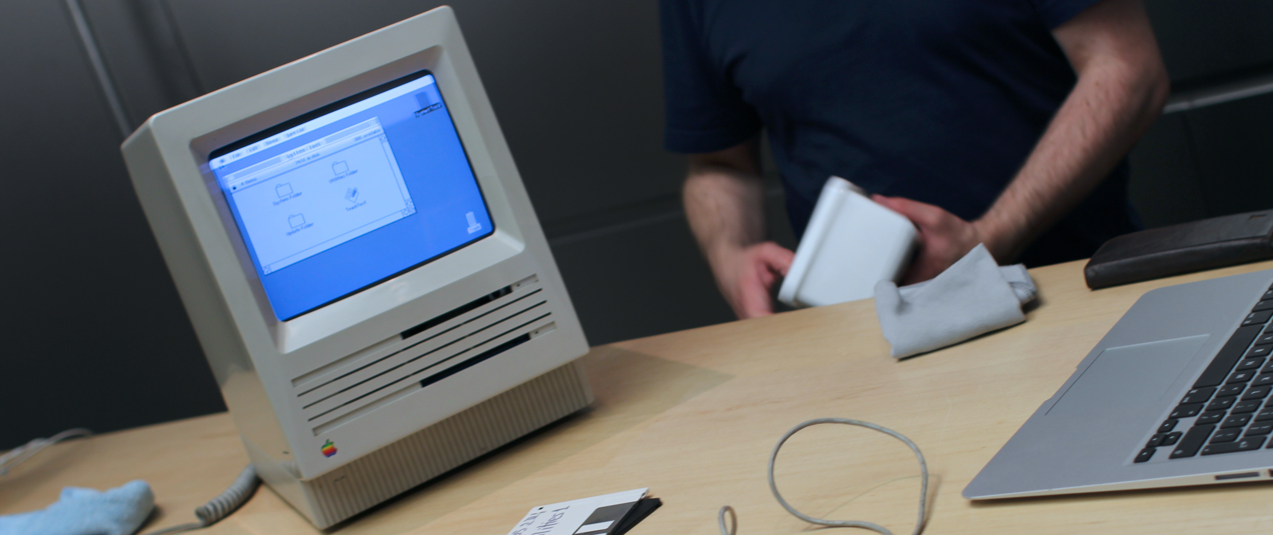 The 30 year old Mac goes back
