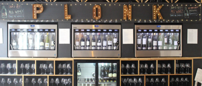 I found a self-service wine bar