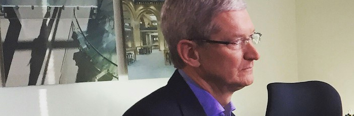 Tim Cook Is Bored