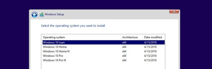 Windows is Going Lean