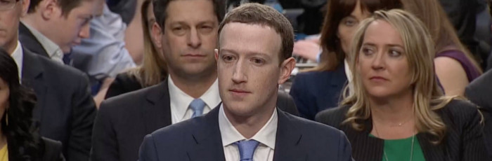 Zuckerberg Sweating Bullets