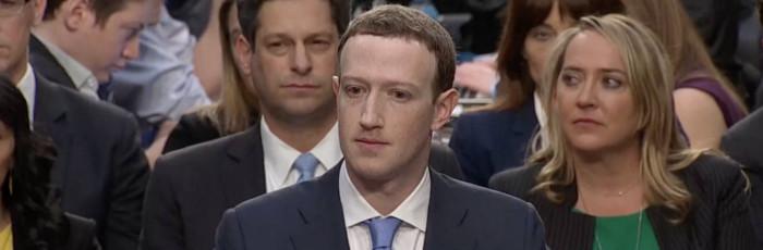 Zuckerberg Sweating Bullets