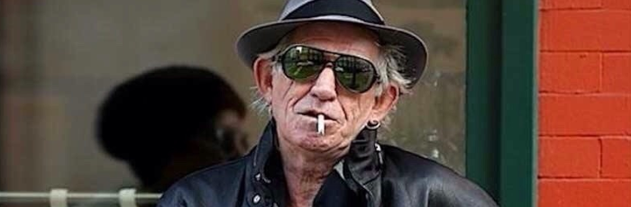 Keith Richards and Cockroaches