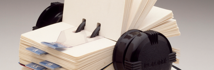 Rolling Out The Rolodex