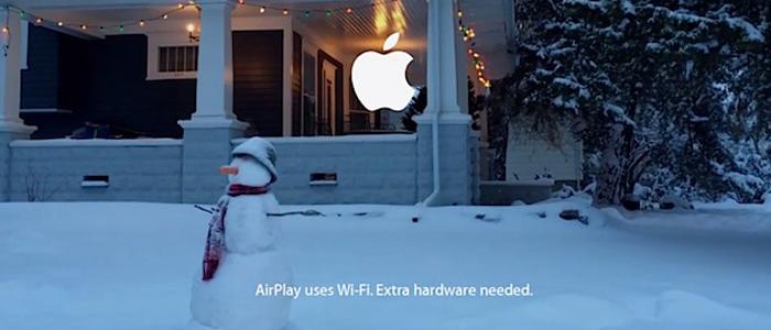 Does Grandad die at the end of the Apple Advert?