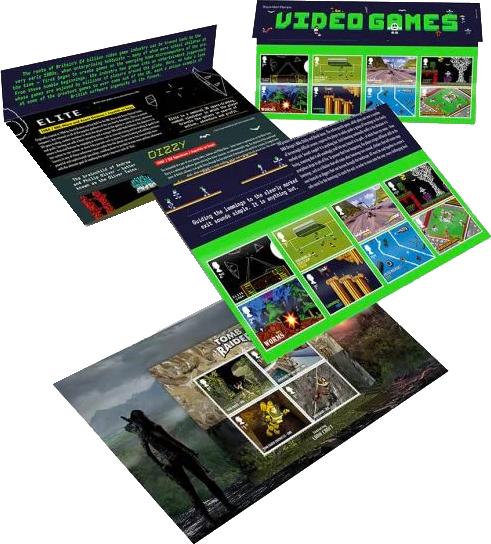 Stamps presentation pack
