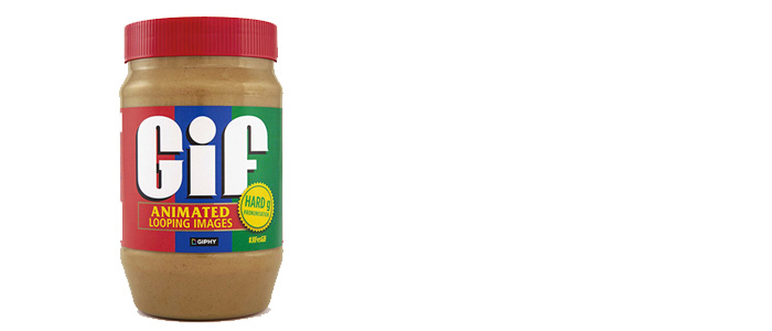 GIF or JIF…or Peanut Butter