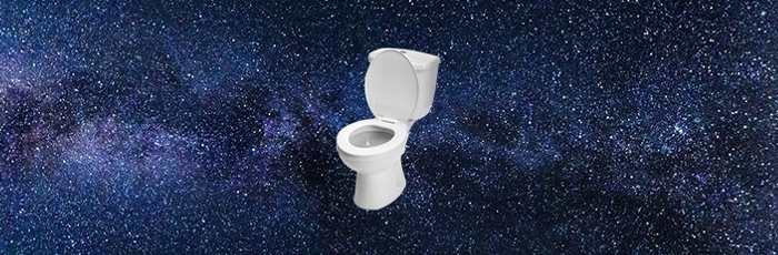 The Crapper Into Space