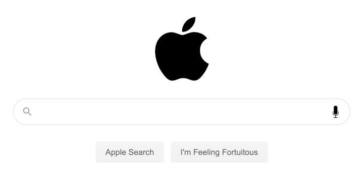 "Just ""Apple It""??"