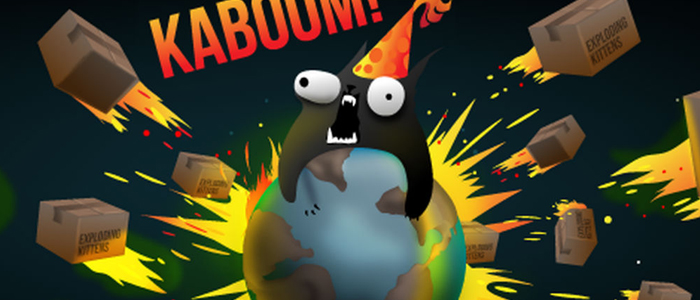 Exploding Words. Exploding Kittens