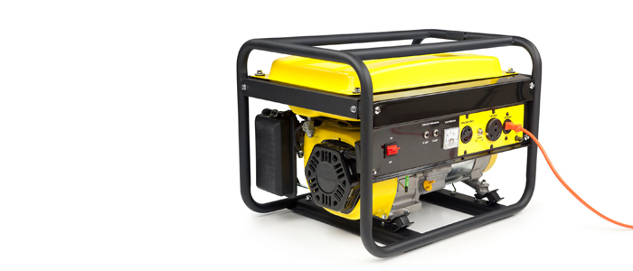 Give thanks for the generator